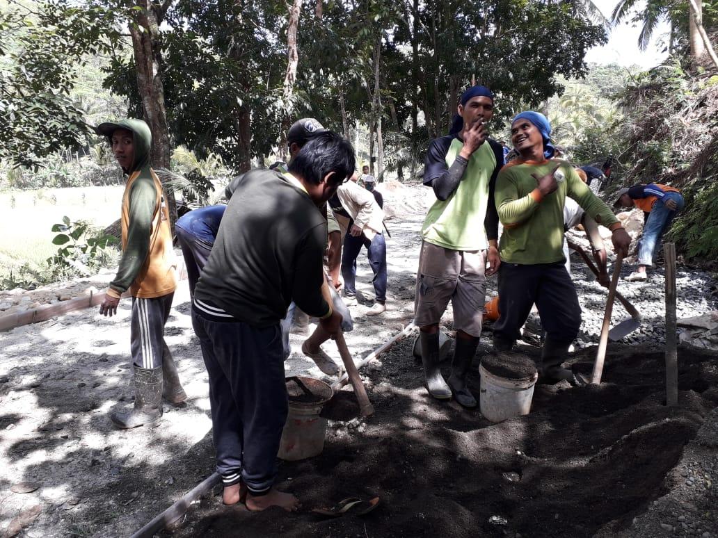 Rabat Beton Jalan Dusun Karangmukti_DD 2 2019